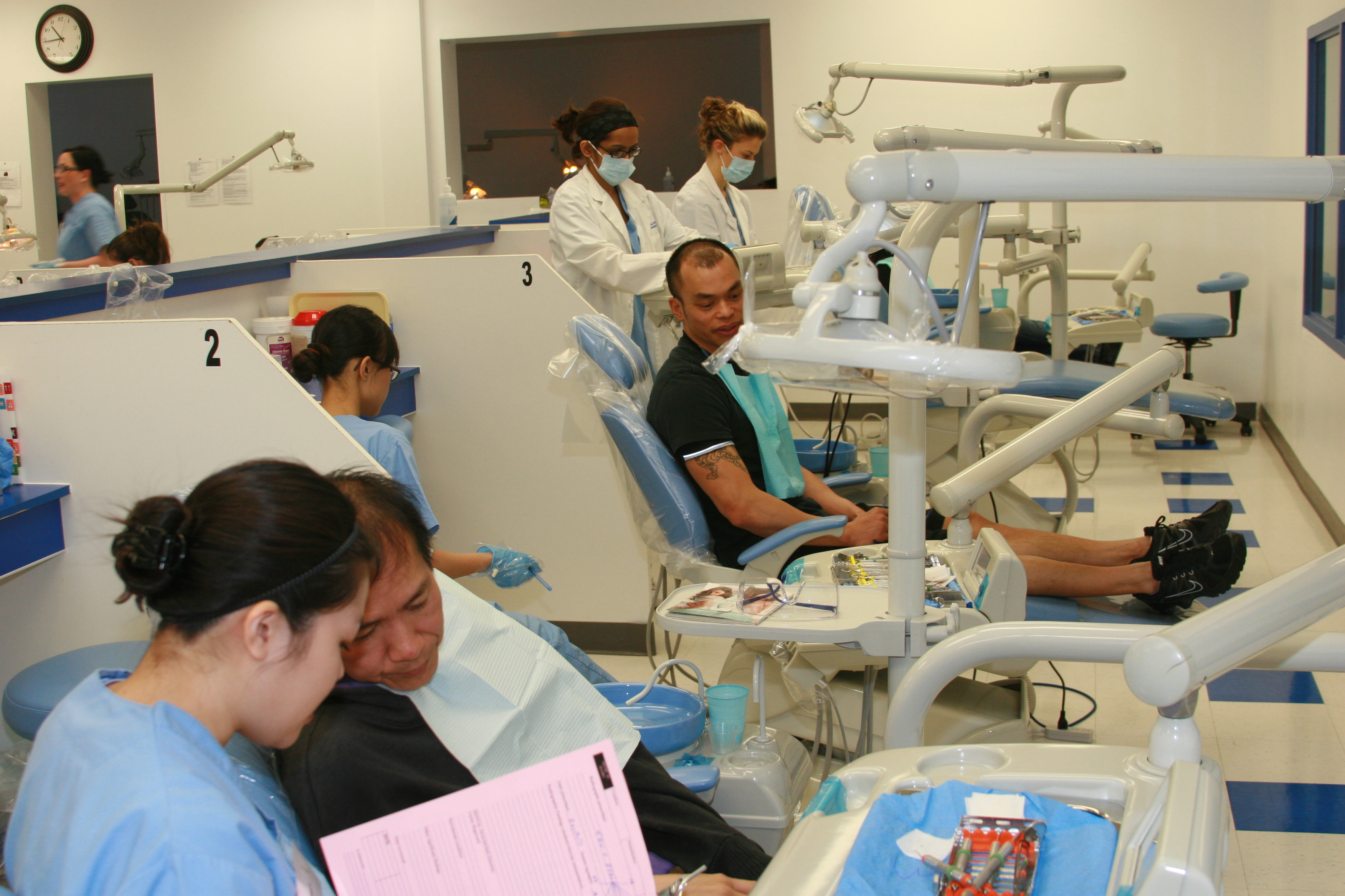 Dental Hygienist college courses list